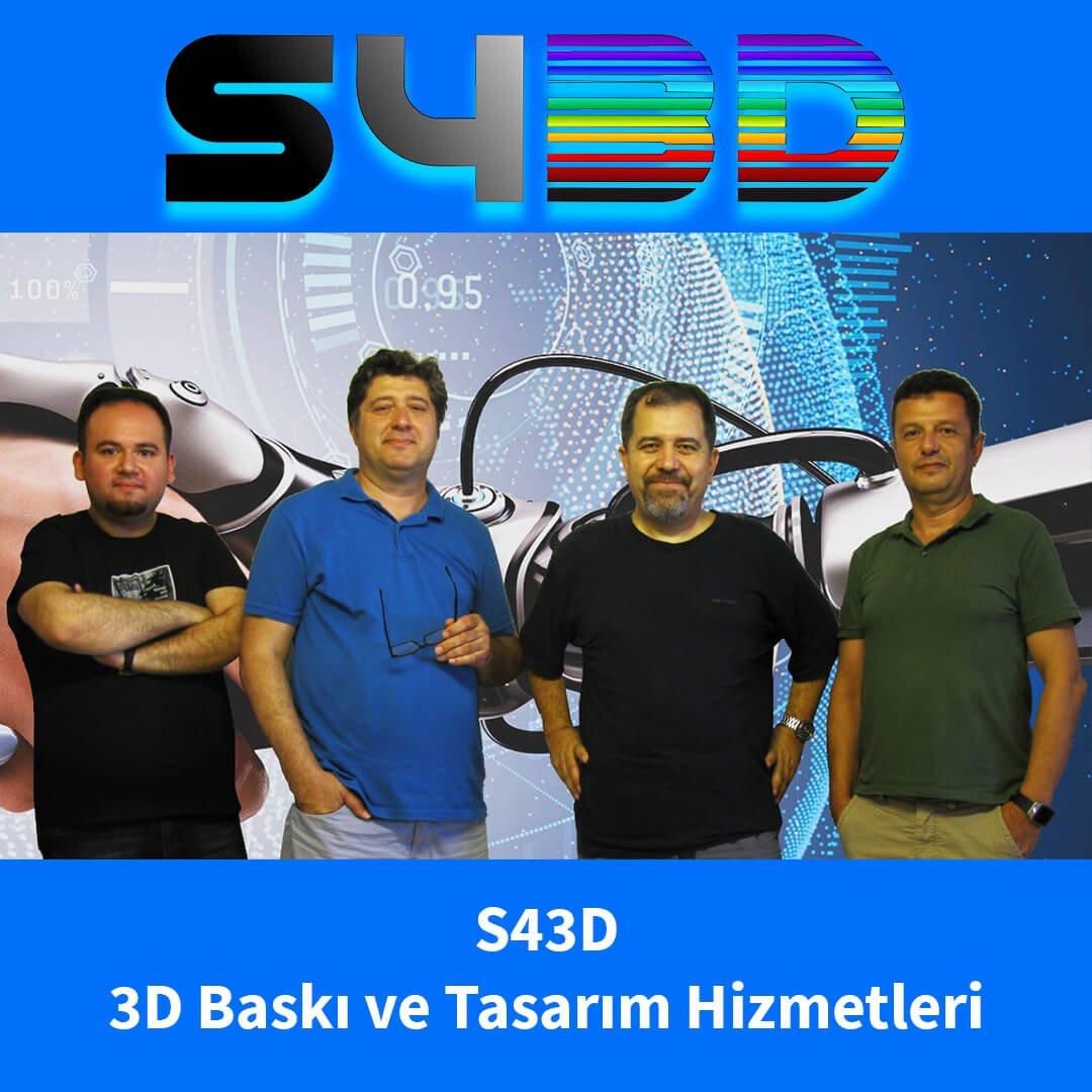 3D Baskı ve Tasarım Merkezi S43D